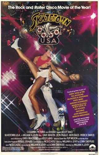 Skatetown USA DVD Patrick Swayze