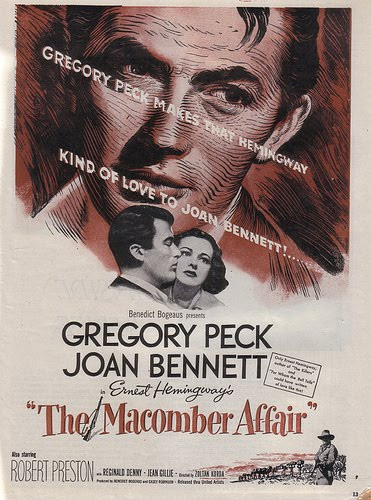 "Gregory Peck Stars in ""The Macomber Affair"""