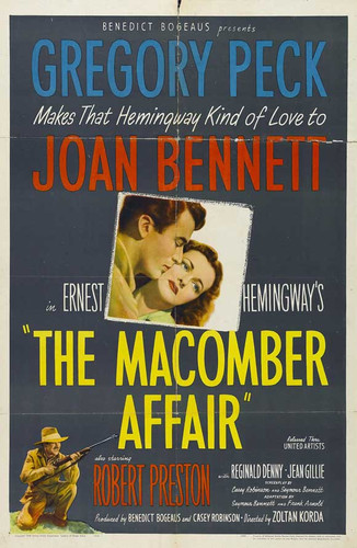 The Macomber Affair DVD 1947 Gregory Peck