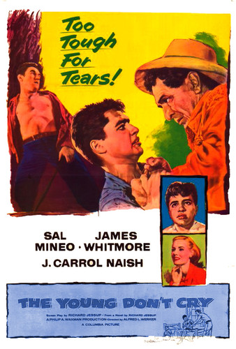 The Young Don't Cry DVD starring Sal Mineo (Playing yet ANOTHER delinquent teen!)