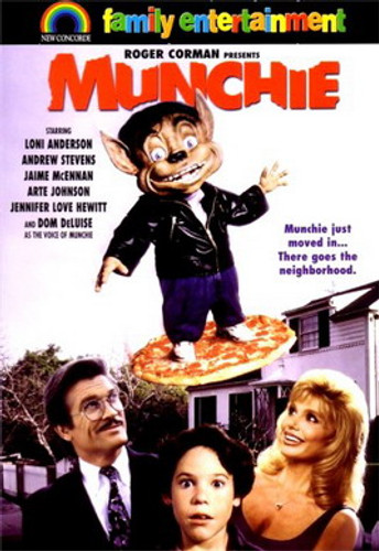 """Munchie DVD 1992 (This is NOT """"Munchie Strikes back"""" also from the same year)"""