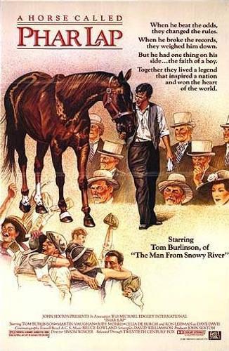 phar lap dvd 1983 movie about Australia's best race horse
