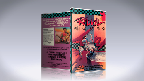 """Radical Moves"" 1986 DVD"