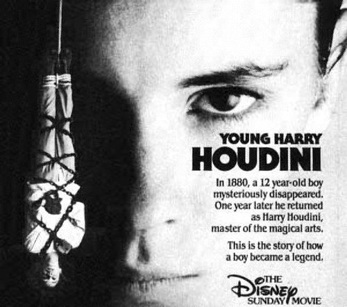 "Wil Wheaton plays ""Young Harry Houdini"" in this classic and rare ""Wonderful World of Disney"" TV movie"