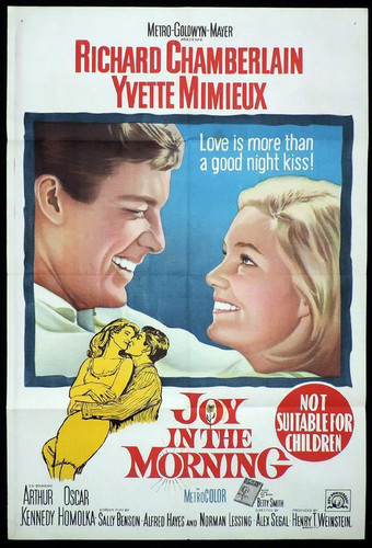 joy in the morning on DVD yvette mimieux, Richard Chamberlain