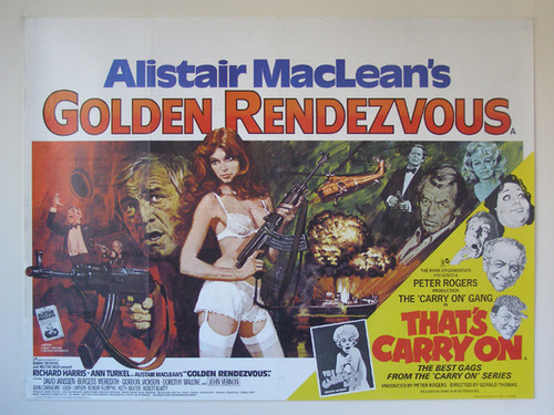 Another Great Novel turned movie! Golden Rendezvous (aka Nuclear Terror)