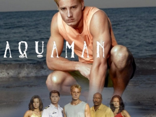 "Justin Hartley as ""Aquaman"" in the Unaired TV Pilot"