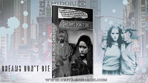 "Cult classic Graffiti movie ""Dreams don't die"" 1982 tv movie on DVD  from 1982 starring Ike Eisenmann, Paul Winfield, Trini Alvarado"