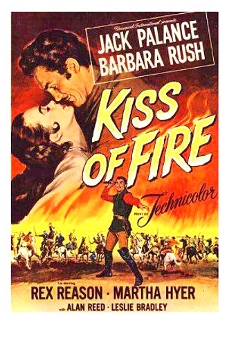 kiss of fire 1955 dvd Jack Palance