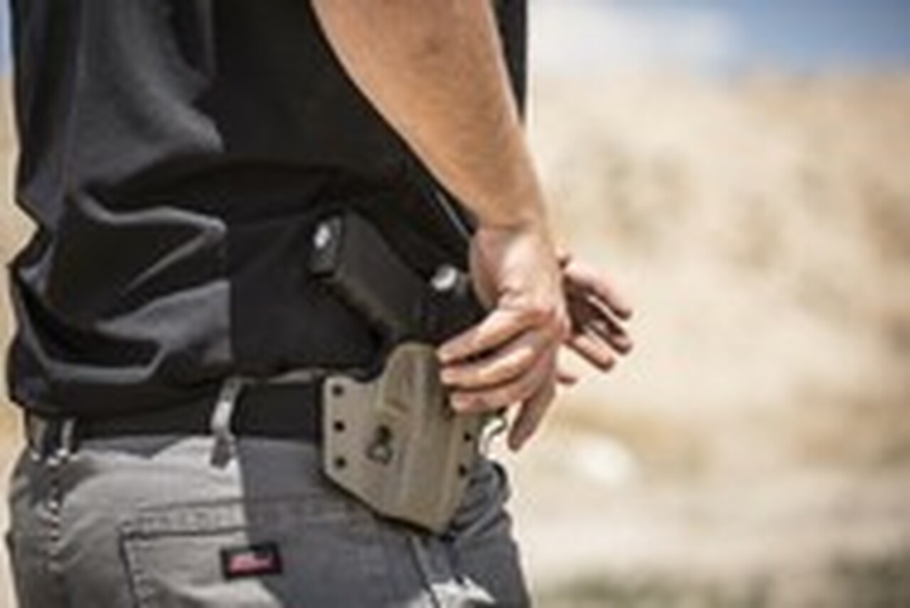 Our Kydex Defender holster is designed to provide all day comfort with the toughness to withstand any tactical training.