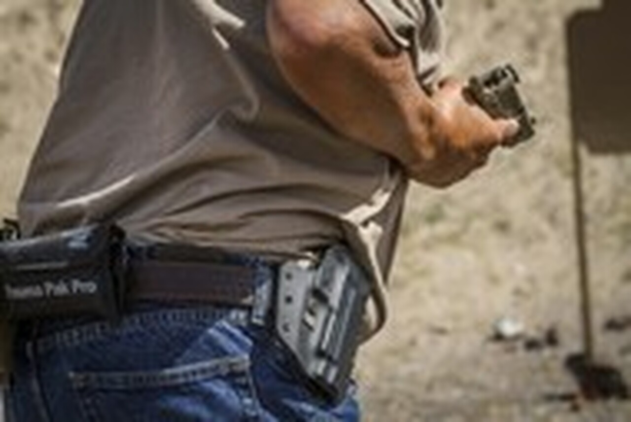 From concealment the Defender is quick and secure. The choice of multiple agencies and officers around the world.