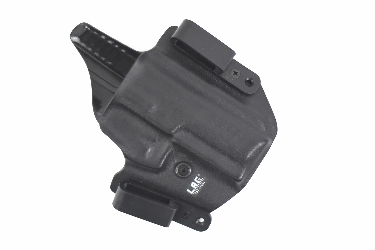 Versatile and adjustable, Our dual Purpose Holster is designed to fit any shooting and carry style.