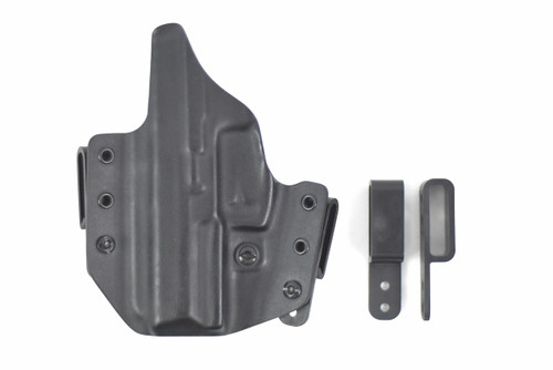 The most versatile holster on the market. Custom Kydex options gives you the ability to personalize your holster.