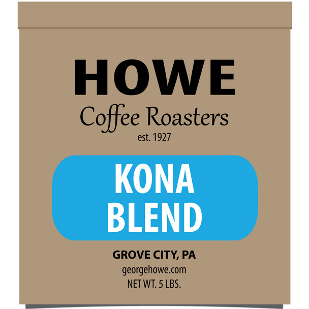 Kona Blend Whole Bean 5 lb. bag