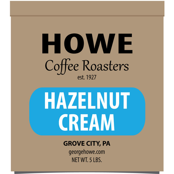 Hazelnut Cream Whole Bean 5 lb. bag