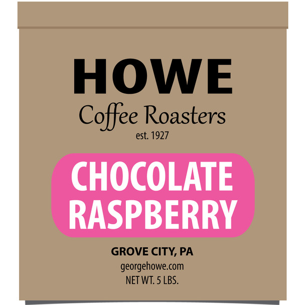 Chocolate Raspberry Whole Bean 5 lb. bag