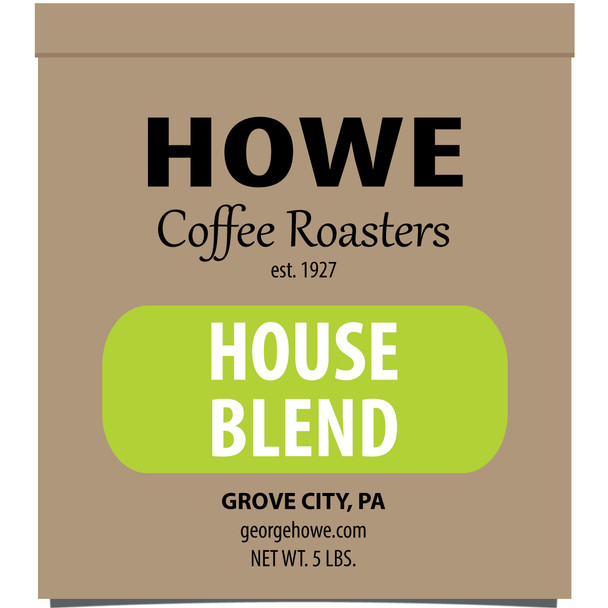 House Blend Whole Bean 5 lb. bag