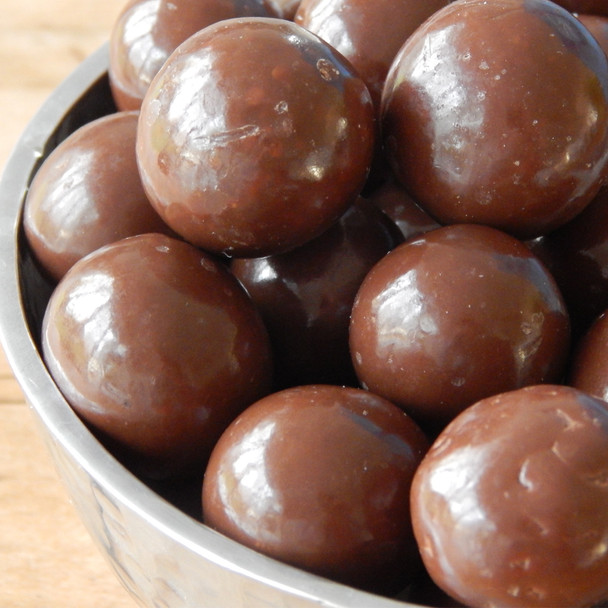 Chocolate Jumbo Malted Milk Balls 1lb bag