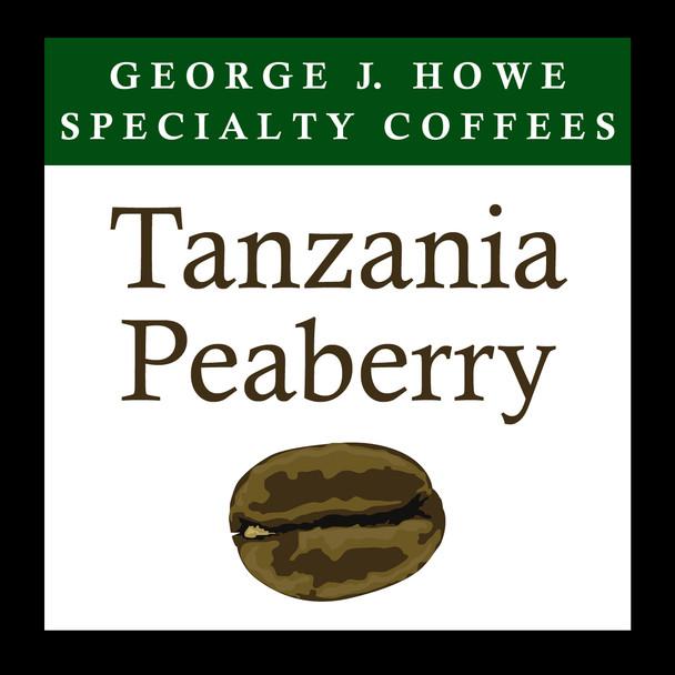 Tanzania Peaberry 12 oz. bag