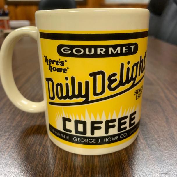 Yellow Daily Delight 12 oz Mug