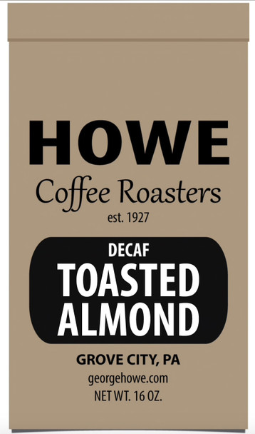 Decaf Toasted Almond 1 lb bag