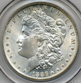 PCGS 1886-O MS-64 Morgan Silver Dollar