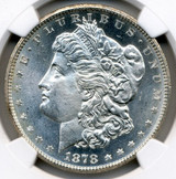NGC 1878-CC MS-66 Morgan Dollar