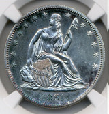 NGC 1861-O SP 62+ Sitting Liberty Half Dollar