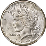 NGC 1922-S MS-66 Peace Dollar