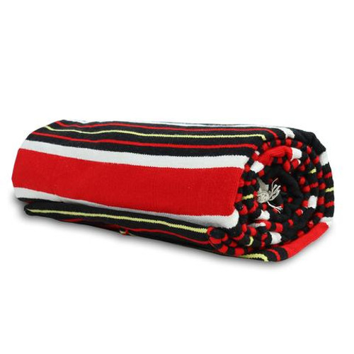 Motorcycle Bed Rolls & Hammocks | Mexican Blanket Bedroll