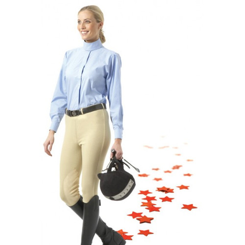 EquiStar™ Pull-On Knee Patch Breeches - Ladies