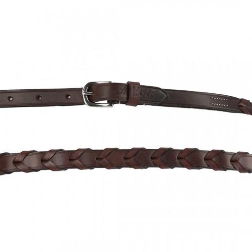 Harmohn Kraft Plain Laced Belt- 5/8 Inch Wide