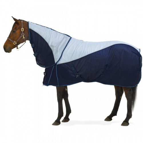 Ovation® Super Fly Sheet with Neck Cover and Surcingle Belly