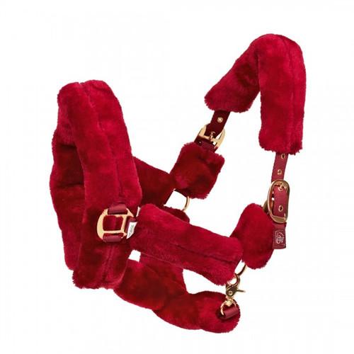 Ovation® Rose Gold Fleece Shipping Halter