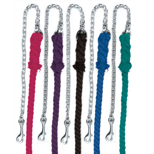 3-Ply Cotton Lead with Chrome Plated Chain