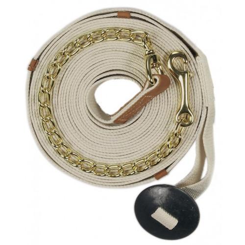 Centaur® XL Poly-Cotton Web Lunge w-Chain