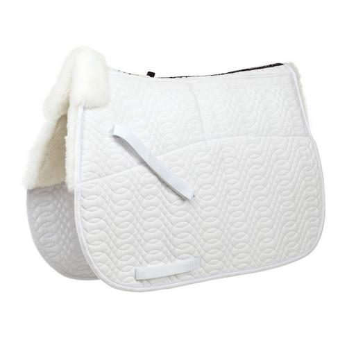 Ovation® Europa™ Square Sheepskin Close Contact Pad- 4-Shim