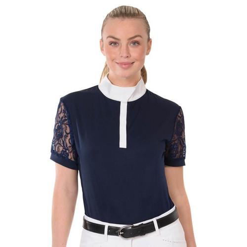 Ovation® Elegance Lace Show Shirt- Short Sleeve