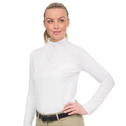 Ovation® Elegance Long Sleeve Show Shirt- Ladies'