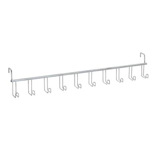 Wire 10-Hook Bridle Rack