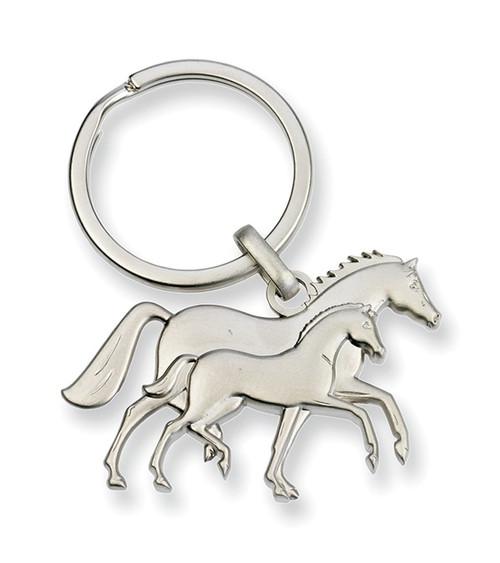 Mare & Foal Key Chain