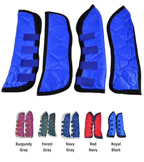 Quilted Shipping Boots