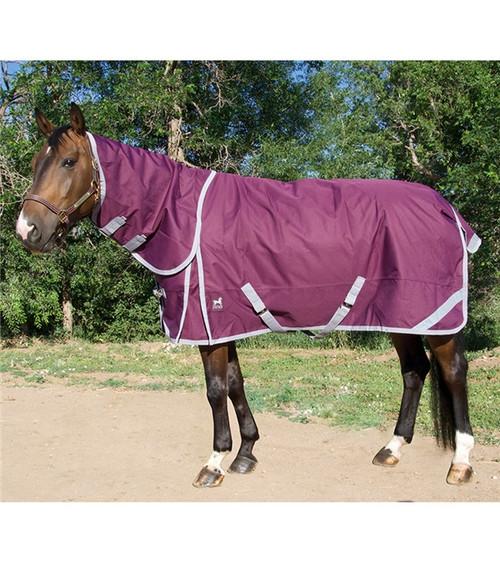 Boreas Purple Turnout Sheet 1200 Denier & Reflective Stripes