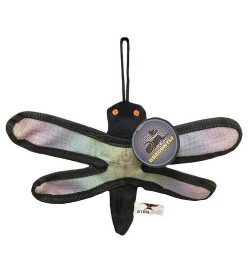 Iron Cat Dragonfly with Catnip Pouch