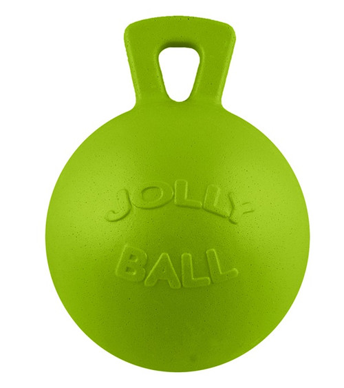 """Jolly Ball™ with Handle Apple Scented 10"""""""