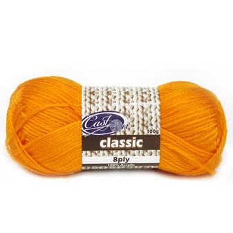 Cast On Classic 8ply Saffron - 10 pack | Prices Plus