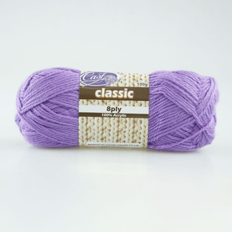 Cast On Classic 8ply Jacaranda - 10 pack | Prices Plus