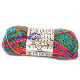 Cast On Cascade 8ply Rainbow - 10 pack | Prices Plus