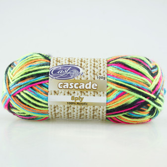 Cast On Cascade 8ply Rave - 10 pack | Prices Plus