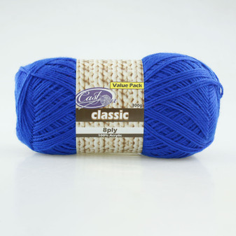 Cast On Classic 8ply Admiral 300g  - 10 pack | Prices Plus